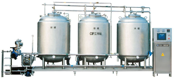 Cip Cop Sip Sop Work Station Water Filling Machine Water