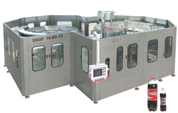Carbonated beverage filling equipment