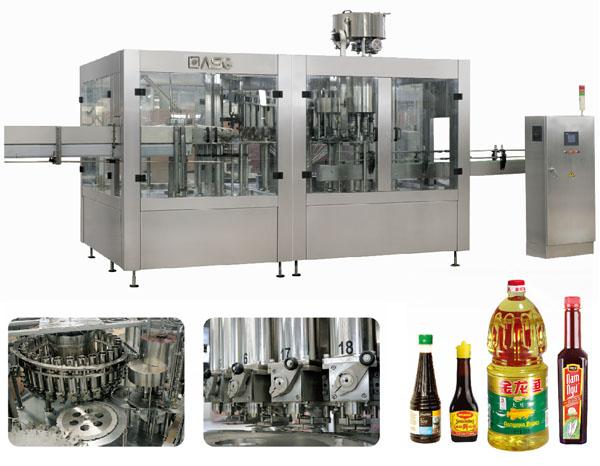 Condimentsfilling equipment