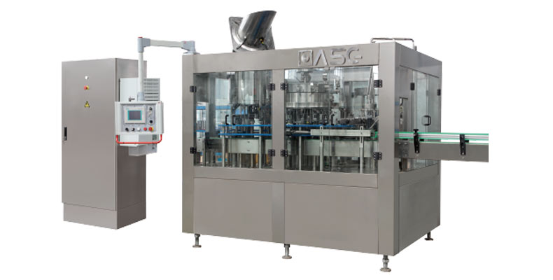 Glass bottle Carbonated Beverage Filling Machine - Water