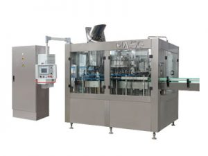 Glass bottle Carbonated beverage filling machine 01