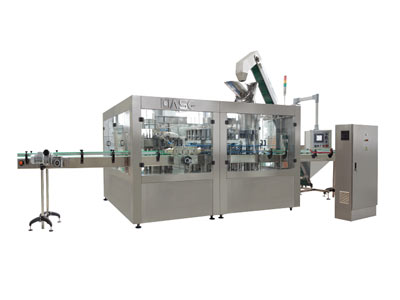 Glass bottle juice filling machine 01