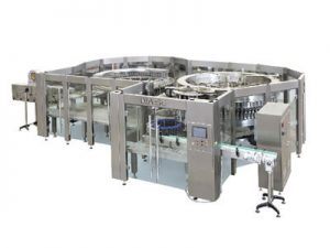 Packaged-Drinking-Water-Filling-Machine--